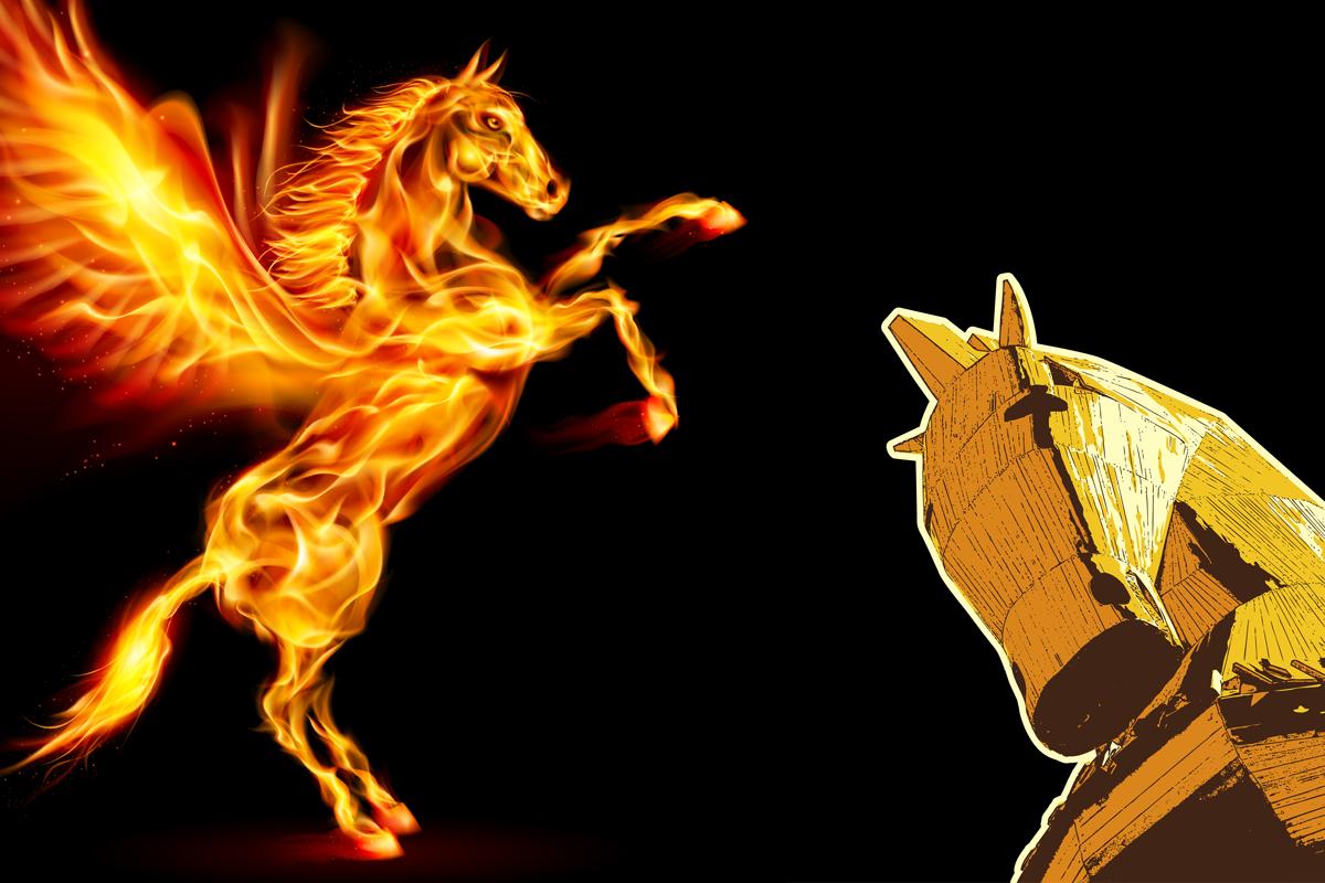pegasus-trojan-horse