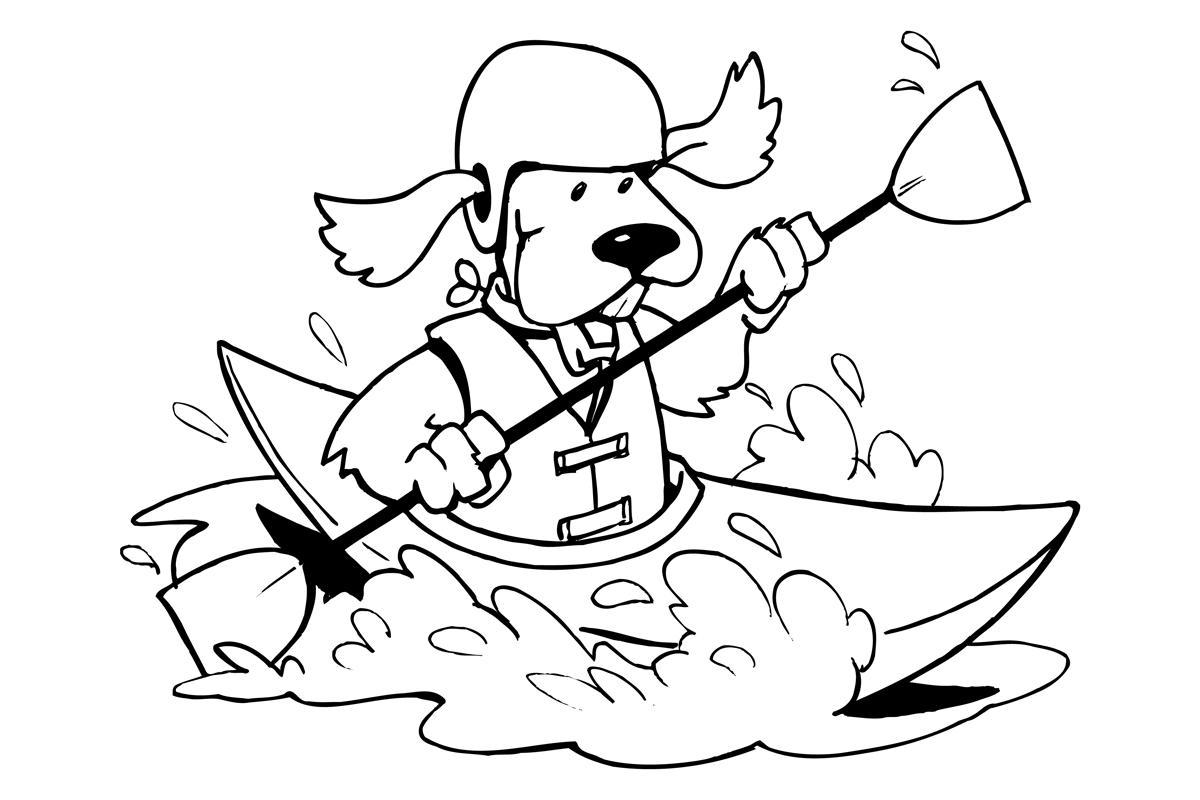dog-paddling