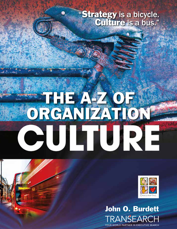 The A to Z of Organization Culture