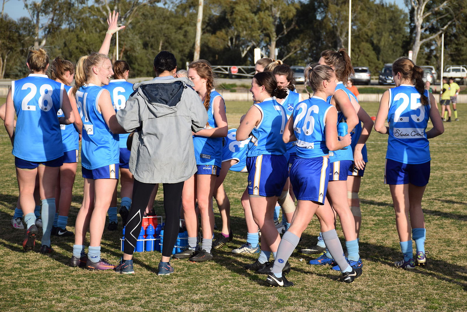 Article image: Monash Blues Women's Firsts