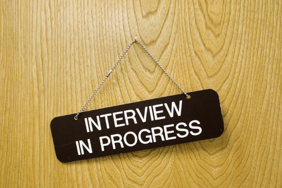 Article image: Interview in progress