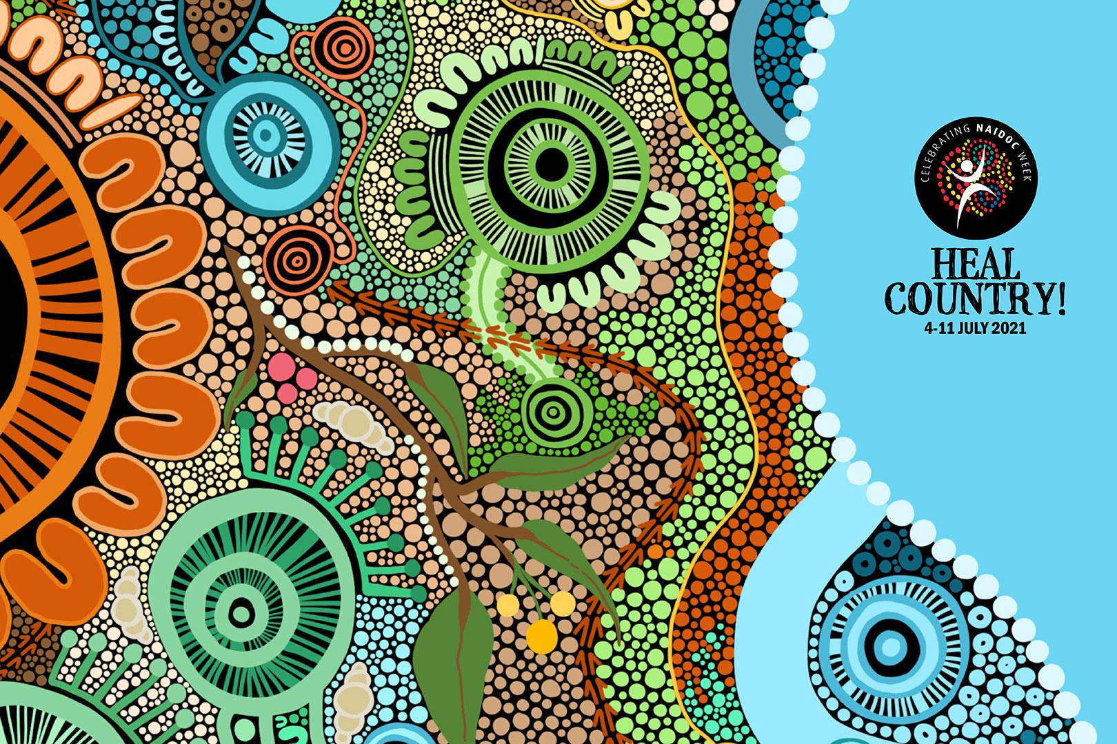 Article image: NAIDOC week 2021 - Heal Country